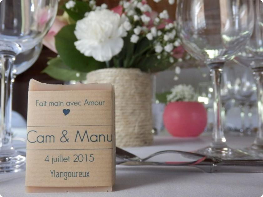 Savon mariage Herbe Folle